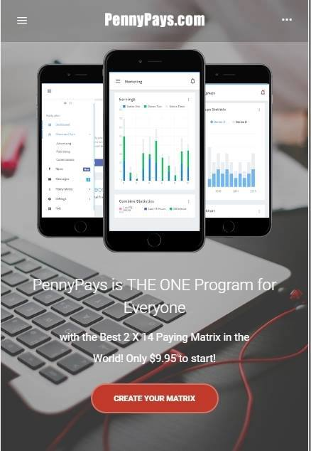 PennyPays Mobile Back Office